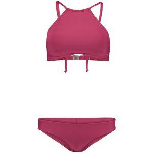 High Neck Bikini Red Bikinis