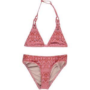 Boho Triangle Bikini Pink Bikinis