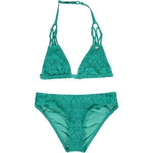 Boho Triangle Bikini Green Bikinis
