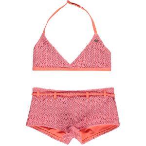 Structure Halter Bikini Pink Bikinis