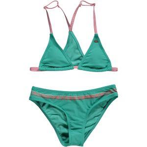 Triangle Bead Bikini Green Bikinis