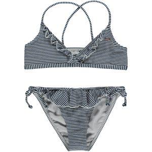 Structure Triangle Bikini Blue Bikinis