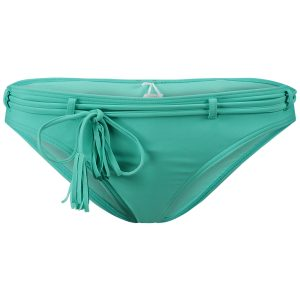 Print Belted Bikini Bottom Green Bikinis