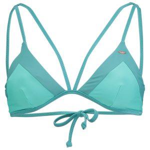 Solid Reversible Bikini Top Green Bikinis