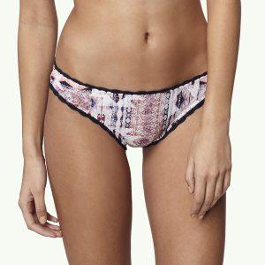 Crochette Edge Bikini Bottom Pink Bikinis