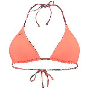 Reversible Triangle Bikini Top Red Bikinis