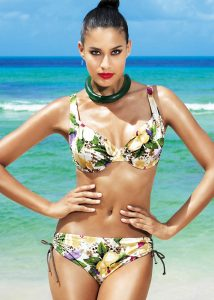 David Lady Club Sabbia Print Bikini