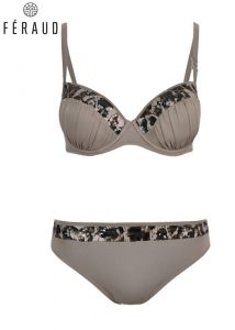 Feraud Leopard Sequined Underwired Bikini