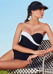 Liberti Calla Bandeau Shaping Swimsuit