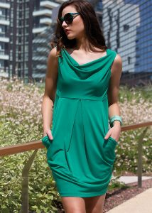 Miss Matisse Marettimo Green Sun Dress