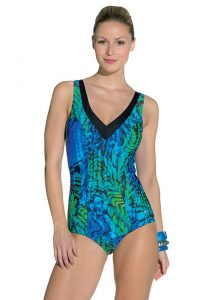 Palm Beach Mastectomy Paisley Sport Swimsuit