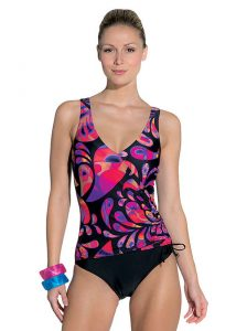 Palm Beach Paisley Bubble Swimsuit