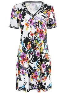 Rosch Flowers V Neck Sun Dress