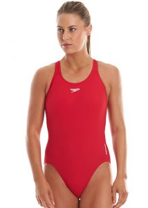 Speedo Essential Medalist Red Swimsuit