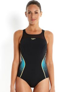 Speedo Fit Pinnacle X-Back Black Swimsuit