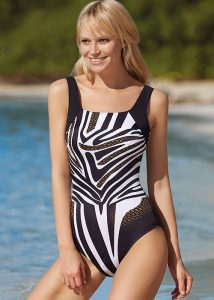 Sunflair Golden Chain Mastectomy Swimsuit