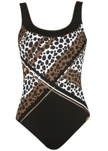 Sunflair Ivory Coast Animal Printed Swimsuit