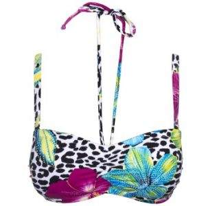 Djungle Flower Bikini Padded Bra