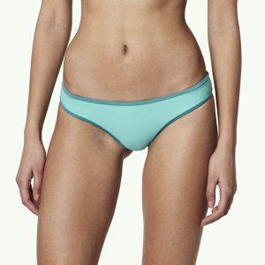 Reversible Cheeky Bikini Bottom Green Bikinis