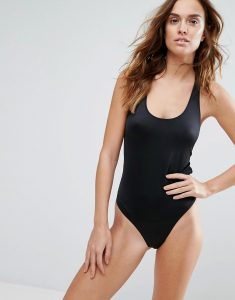 Black Swimsuit - Black