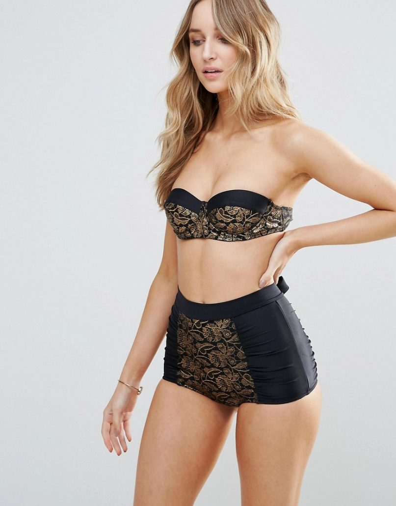 Find the latest and trendy styles of high waisted bikini - high waisted swimwear bottoms and bikini set at ZAFUL. We are pleased you with the latest trends in high fashion high waisted bathing suits.