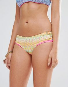 Journey Retro Stripe Bikini Bottoms - Multi