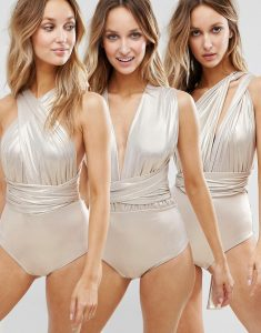 Multiway Swimsuit - Gold