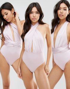Multiway Swimsuit - Purple