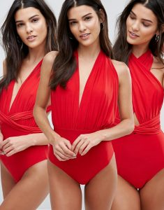 Multiway Swimsuit - Red
