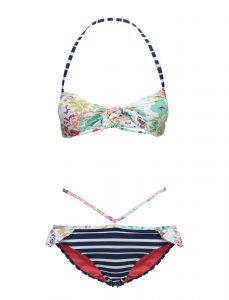 Sunseeker Knottop Cutout Pant Bikini Set