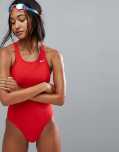 Core Red Swimsuit - Red
