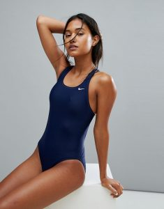 Navy Swimsuit - Black