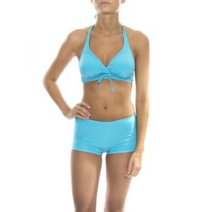 Bikini Halterneck Bra And Hipster Set