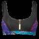 Polynesia zipped top -bikinitoppi