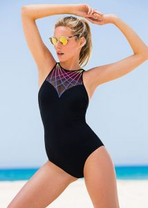 Gottex Profile Sport Illuminate High Neck Swimsuit