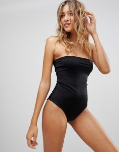 Bandeau Swimsuit - Black