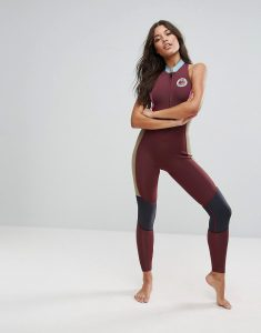 Colour Block Salty Jane Full Length Wetsuit - Multi
