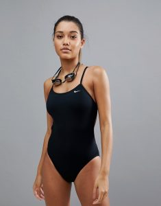 Swim Cut-Out One Piece - Black
