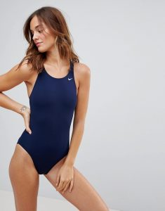 Swim Navy Fast Back One Piece - Blue