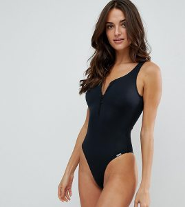 Zip Swimsuit - Black