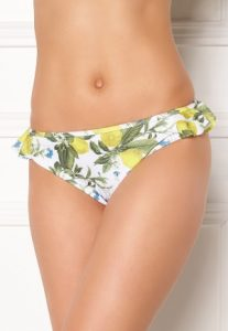 Pacifica Bikini Brief White/lemon S