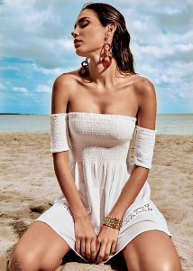 Iconique Elegant White Sands Dress