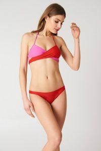NA-KD Swimwear Bikini Panty - Red