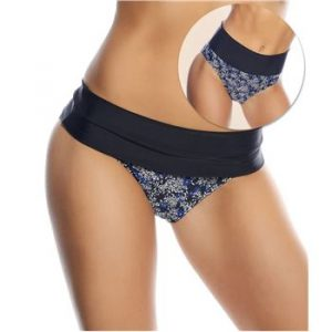 Petit Fleur Folded Brief Black