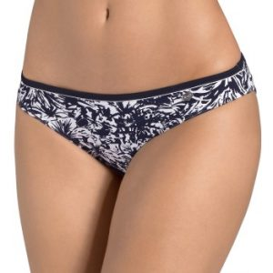 Midnight Flower Mini Brief Navy