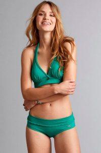 Safety position braided bottom -bikinihousut