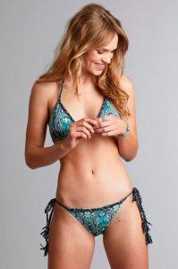 Safety triangle bikini bottom -bikinihousut