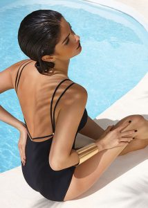 Maryan Mehlhorn Glam Black Swimsuit