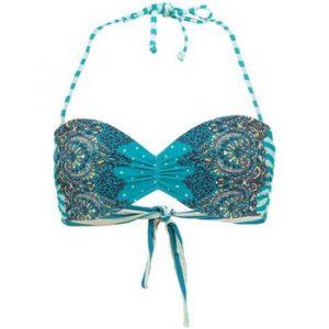 Bikinit   Mirissa Molded bikini  top - Blue