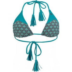 Bikinit   Paisley  Triangle Bikini top - Blue